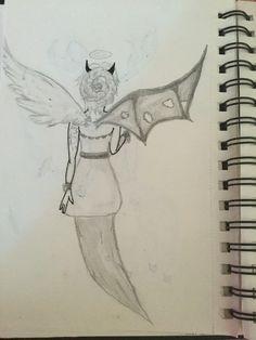 Mi-démon mi-ange