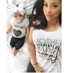 Madre Mama mamá tanque de la mujer por ShopLovebirdBoutique