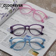 d918b38033a Fashion 2018 Children Optical Glasses Frame Ultralight Kids Eyeglasses Cute  Eye Glasses Frames For Boys Girls Clear Eyewear