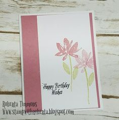 Hello and Happy Wednesday. I am Happy to share this card with you and tell you that you can now order from the 2017 Occasions Catalog....