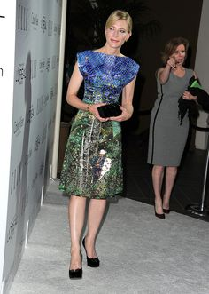Cate Blanchett wore a Spring 2013 Proenza Schouler dress at the Elle Women in Hollywood Awards in Los Angeles