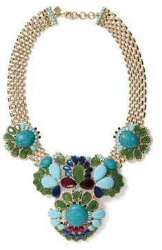 Turquoise Statement Necklace - Lyst