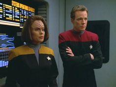 Star Trek Voyager's B'Elanna Torres & Tom Paris <3