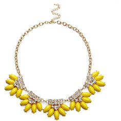 Sole Society Floral Statement Necklace
