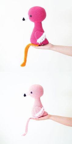 Ramona the Friendly Flamingo - Crochet Pattern - Amigurumi Spanish Pattern, Make Your Own, How To Make, Crochet Patterns Amigurumi, Flamingo, Bunnies, Etsy, Flamingo Bird, Flamenco