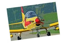 Pilatus PC-7 Turbo Trainer Aircraft Paper Model