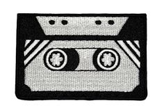 Tape Cassette Retro DIY Applique Embroidered Sew Iron on Patch TCS-01 Retro http://www.amazon.com/dp/B00KMQWLPE/ref=cm_sw_r_pi_dp_jOrUwb0ZNY5KJ