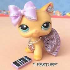 LPS Littlest Pet Shop Phone Clothes Accessories Outfit Lot *CAT NOT INCLUDED*