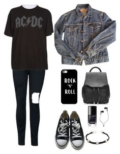 """""""09:09 am"""" by aretusa ❤ liked on Polyvore featuring Levi's, Converse, Casetify, Rebecca Minkoff, rag & bone, Master & Dynamic, men's fashion and menswear"""