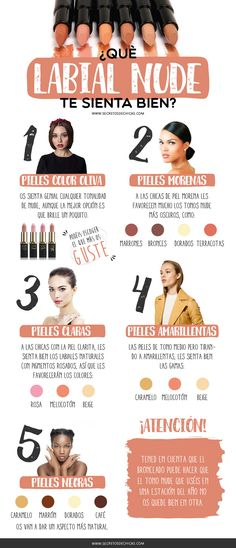 Que-labial-nude-te-siente-bien_web - Makeup Tips Highlighting Diy Makeup, Love Makeup, Makeup Inspo, Makeup Inspiration, Makeup Course, Make Up Tricks, How To Make, Face Care, Skin Care
