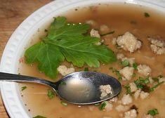 Cumlová polévka z pořadu Prostřeno recept - TopRecepty.cz Cantaloupe, Meat, Chicken, Fruit, Food, Essen, Meals, Yemek, Eten