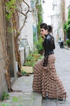 Dovilės Puišienės kurtų drabužių fotosesija Paryžiuje