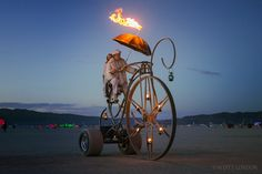 Dreamcycle at Burning Man 2015 (Photo by Scott London)