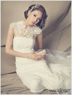 [웨딩드레스] '너목들' 서도연검사가 제안하는 가을신부 웨딩드레스| Daum라이프