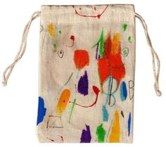 great idea for gift bag for art party