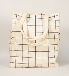 checked tote bag, pattern, grid