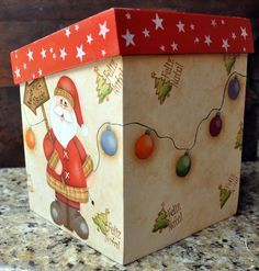 Aqui apresento os meus trabalhos que faço com muito carinho. Adorooooooo pintar!!!!! Christmas Decoupage, Christmas Art, All Things Christmas, Diy And Crafts, Christmas Crafts, Christmas Decorations, Christmas Ornaments, Holiday Decor, Country Paintings