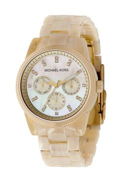 Michael Kors Multifunction Bracelet Watch $195.00 ...love the new Michael Kors line and love the ceramic watches!