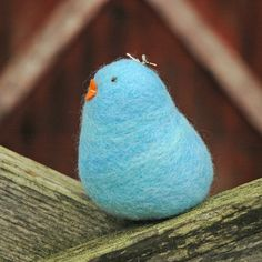 felted chick