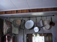 DIY Kitchen: DIY Home: DIY The Ten Dollar Pot Rack
