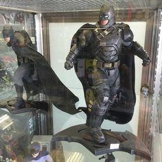 This DC Collectible of Armored Batman from BVS is awesome. #Batman #Thedarkknight #timburton #1989 #michaelkeaton #jacknicholson #batmobile #gotham #gothamcity #dccomics #brucewayne #batmanbegins #thedarkknightrises #batmanvsuperman #batmanvsupermandawnofjustice #benaffleck #galgadot #henrycavill #mattel #batproblems #superman #wonderwoman #justiceleague by battoysfanatic