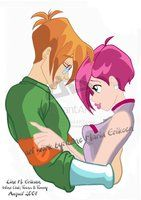 Timmy and Tecna from Winx Club Possibly the smartest fictional couple, ever, :D Ideal Boyfriend, Couple Illustration, New Inventions, Winx Club, My Childhood, Light Colors, Wallpaper, Animation, Fan Art