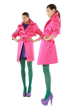 Pink duchesse trench coat Red Leather, Leather Jacket, Trench, Fall Winter, Coat, Austria, Pink, Designers, Jackets