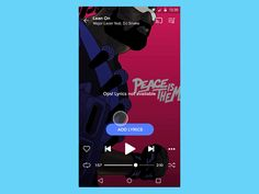 A new material call-to-action we introduced on Musixmatch for Add Lyrics and Sync Lyrics actions. The alert will appear the first time only. Animated with the impressive Principle. Developed by our...