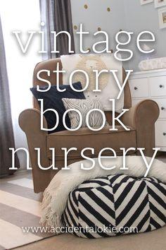 accidental okie storybook themed nursery