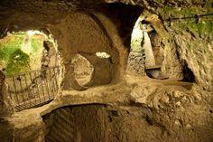 Derinkuyu Underground City in Turkey