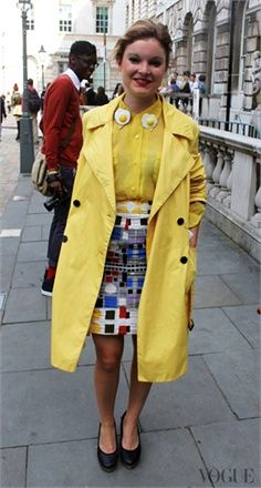 London - click on the photo to see more street style inspiration