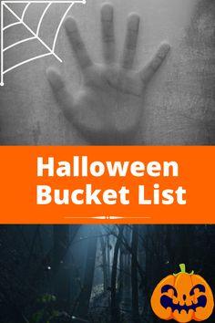 Halloween Bucket List: Halloween steht vor der Tür - Hier findest du jede Menge Ideen für die schaurigste Nacht des Jahres #halloween