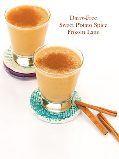 Sweet Potato Spice Frozen Latte