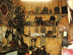 We have a lot of old Cowboy hats and other cowboy items, some have been owned by some of our late cowboy friends