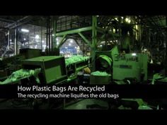 How Plastic Bags Are Recycled - YouTube