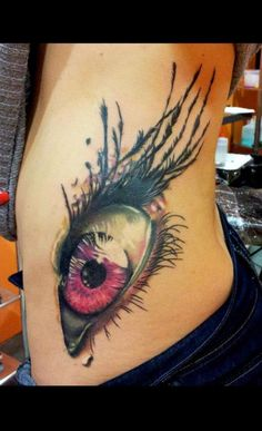 Awesome eye tattoo. #tattoo #tattoos #ink