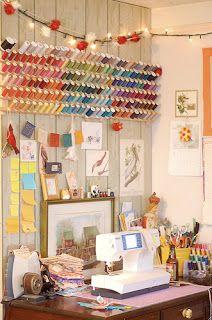 Sew Crafty Angel: Craft Room Ideas