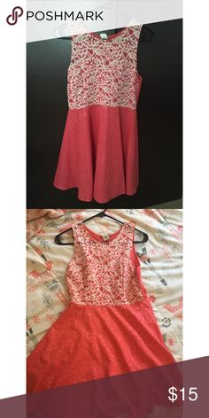 Coral dress Bought in a store in Japan Dresses Midi