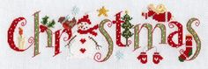 Christmas Sampler Modern Christmas sampler cross stitch kit byNia Cross Stitch.   Contents: 16 count 'ice blue' aida fabric, stranded DMC cottons, needle, chart and full instructions. Approx. size: 25.5cm x 7.5cm  RRP £19*Just 1 left in stock*  See our full range of Christmas kits