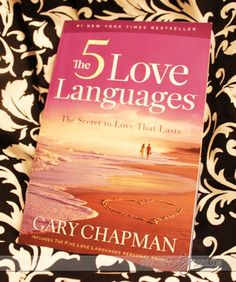 Are you speaking your spouse's love language? Loved this book but it only really works if you both read it...