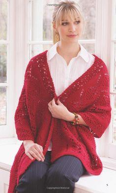 Knitted Prayer shawl....pretty