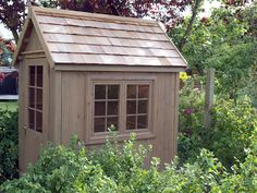 Garden Potting Sheds for Sale. Greenhouse Shed, Small Greenhouse, Greenhouse Gardening, Potager Garden, Garden Structures, Outdoor Structures, Garden Buildings, Outdoor Spaces, Outdoor Living