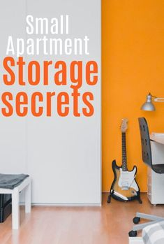Savvy storage secrets and hacks for a small apartment - how ot maximize space and minimize clutter in your small home Small Apartment Storage, Small Storage, Small Apartments, Small Spaces, Clutter Free Home, Maximize Space, Home Hacks, Simple House, Beautiful Space