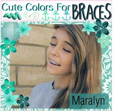 CUTE COLORS FOR BRACES. Do not ever get black braces. To other ppl they will look like your teeth has a bad case of plague rotting and tar. Braces Tips, Braces Off, Braces Smile, Black Braces, Cute Braces Colors, Getting Braces, Acacia Clark, Brace Face, Just Girly Things