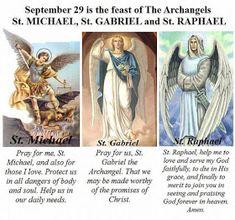 Catholic Religion, Catholic Quotes, Catholic Prayers, Catholic Traditions, Catholic Lent, Catholic Saints, Michael Gabriel, Saint Gabriel, Archangel Gabriel