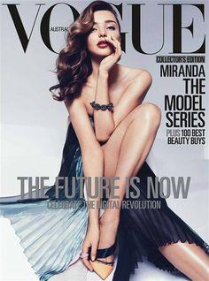 Miranda Kerr in Vogue Australia