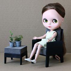 MINIMAGINE * furniture for dolls  #blythe #blythedoll #furniture4dolls #barbiesizefurniture