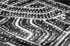 A view of Levittown, N.Y., in 1948, shortly after the mass-produced suburb was completed on Long Island farmland. Photo: Associated Press