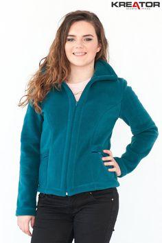 Bluza polarowa, Kreator Studio Mody, rozm. 38 - Rozmiar 38 - Bluzy polarowe