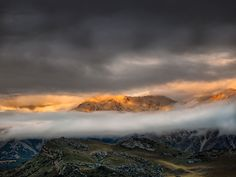 Last Light, Arthurs Pass, New Zealand
